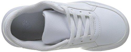 adidas Altasport K, Chaussures de Gymnastique Mixte enfant Blanc Cassé (Ftwr White/ftwr White/clear Grey S12)