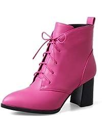 Zapatos 100 Botines Mujer Amazon Fucsia Eur Para es 50 ZYHwqfH