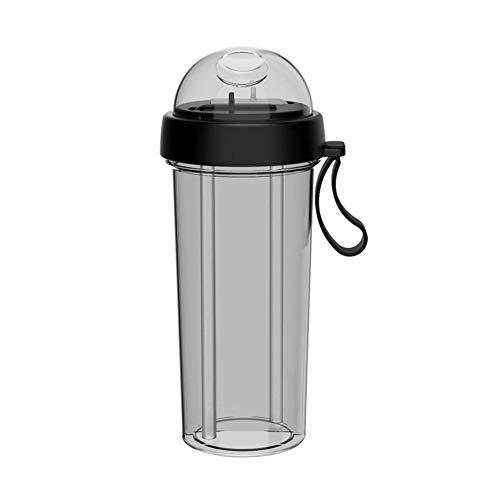 Hearthrousy Sippy Cup Trainer Cup Paar Tassen Saft Tasse Zweifach verwendbares 600ml Silikonseil für Handys - Cup Sippy Saft