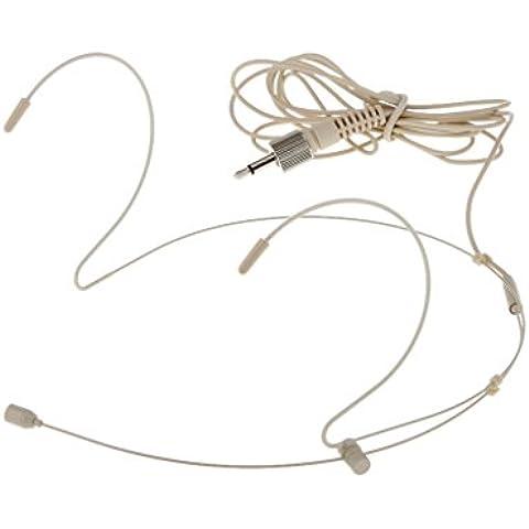 1 X 3.5mm Hanno Fissato Headset Voce Microfono Headset Testa-montata #b Mic - Headworn Microfono
