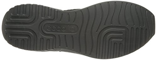 Ecco Herren Luca Sneaker Schwarz (Core Black/Core Black/Utility Black)