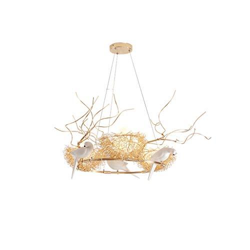 Leuchter-kreatives Persönlichkeits-Restaurant-moderne einfache Kunst-rundes Schlafzimmer-Speisesaal-Vogelnest (Magie Verkauf Von Kunst)