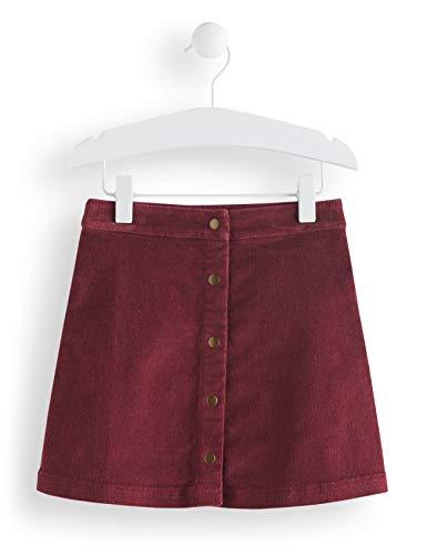 RED WAGON Mädchen Cord Rock, Violett (Maroon), 140 (Herstellergröße: 10) -