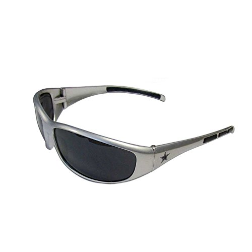 Siskiyou Dallas Cowboys Sonnenbrille UV 400 Schutz NFL Lizenzprodukt Silber