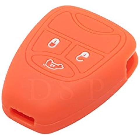 fassport silicona Cover Piel Chaqueta ajuste para Jeep remoto clave caso cv9750