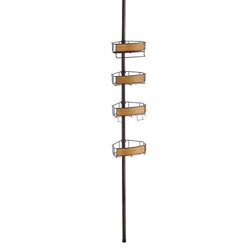interdesign-90802eu-realwood-panier-de-douche-bois-bronze-finition-teck-203-x-2743-x-279-cm
