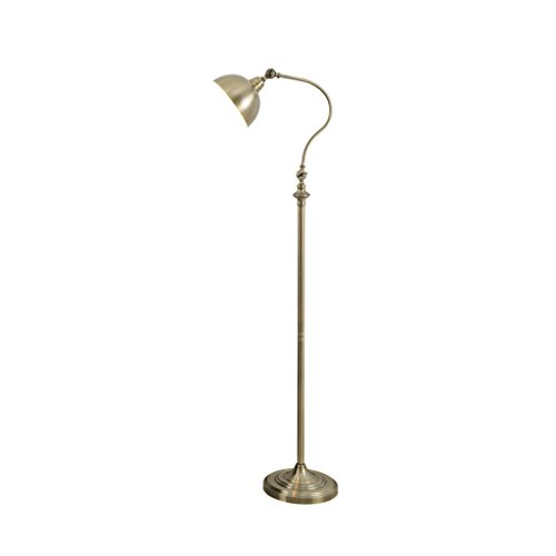 Lámpara de Piso- Lámpara de pie Retra Europea Lámpara de Mesa Vertical...