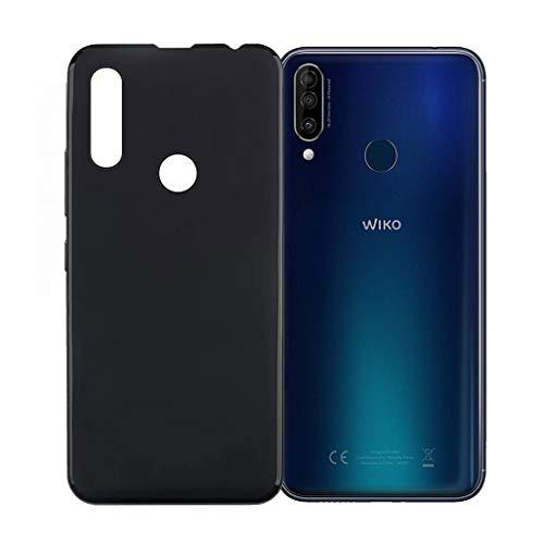 """ZXLZKQ Coque pour Wiko View 3 (6.26""""), Etui Housse de Protection Case Cover Bumper Noir TPU Ultra Mince Silicone Souple pour Wiko View 3 (6.26"""") Smartphone."""