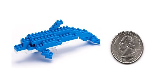 Imagen 1 de Nanoblock: Mini Water Lovers: Bottlenose Dolphin