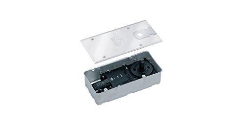 Chiudiporta a pavimento con forza di chiusura fissa per solette di piccolo spessore mab 7305