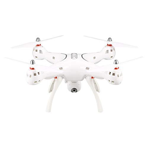 ToGames-DE Syma X8PRO 2.4G GPS Positionierung FPV RC Drohne Quadcopter mit 720 P HD WiFi Einstellbare Kamera Echtzeit Höhe Halten Headless