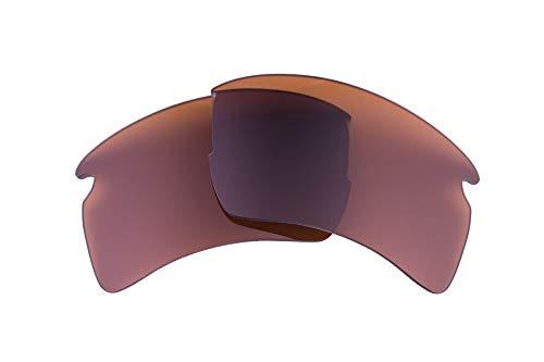 LenzFlip polarisierte Ersatzgläser für Oakley Flak 2.0 XL - mehrere Optionen, Braun (Brown Polarized), 57 mm