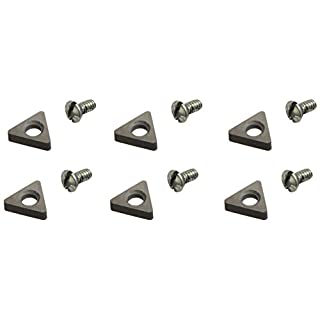 Ammco 9069146 Negative Rake Carbide Insert, (Pack of 6)