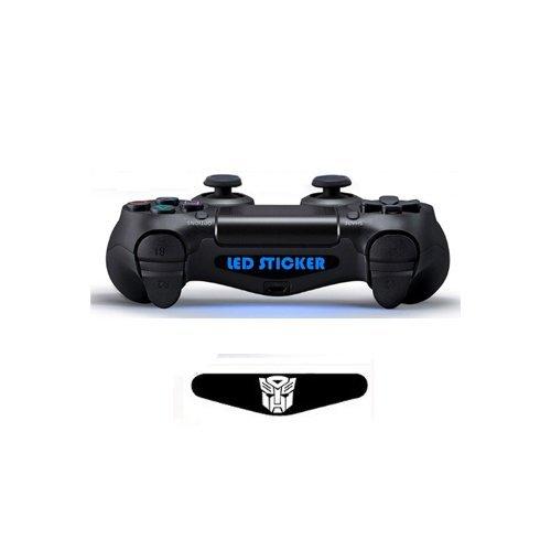 spedito-da-italia-led-sticker-skin-per-controller-dualshock-console-ps4-transformers