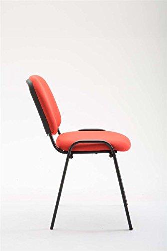 CLP Set 12 sedie Conferenza KEN in Tessuto| Sedie Impilabili con ...