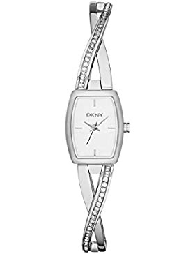 DKNY Damen-Armbanduhr XS Analog Quarz Edelstahl NY2252