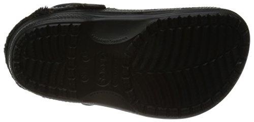Crocs Baya Heathered Lined Clog Black/black