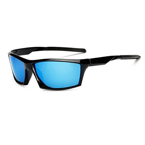 WZYMNTYJ Männer Polarisierte Sonnenbrillen Ursprüngliche Frauen HD Objektiv Sonnenbrille Schwarz Nachtsicht Spiegelbeschichtung