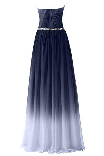 Gorgeous Bride Abendkleider Elegant Lang 2017 Damen Chiffon A-Linie Ballkleider Festkleider Cocktailkleider Mehrfarbig B