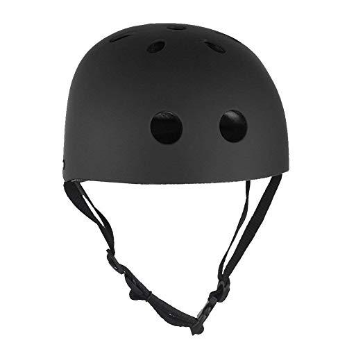 le Skateboard Helm Schlagfestigkeit Ventilation Multi-Sport, Radfahren, Longboard-Helm für Kinder, Jugendliche, Männer, Frauen Sport Im Freien Accessoire ()