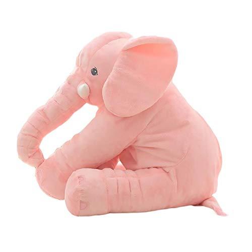 Jannyshop Animal de Peluche Cojín de Elefante Almohada Suave Juguete Elefante de...