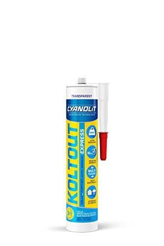 Cyanolit 33300101 Cyanolit Koltout 33300160 Kleber/Spachtelmasse, 290 ml, transparent
