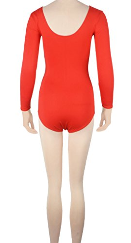 Howriis unisex a maniche lunghe in Lycra SPandex tanga Body Catsuit Saxe Blue