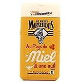 Le petit Maresellais - Au Pays du Miel & une nuit - Feuchtigkeitsspendendes Duschgel mit goldenem Honig aus der Provence - Verzaubernde Glücksmomente (Goldener Honig)