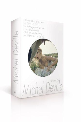 Coffret Michel Deville, vol. 2 (L'Ours et la poupée / Le Dossier 51 / Le Voyage en douce / Eaux profondes / Péril en la demeure / La Maladie de Sachs)
