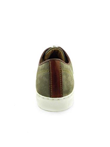 Scarpa Sportiva Zerimar Realizzata Con Suola In Gomma Di Alta Qualità Scarpe Da Uomo Sportive Comode E Leggere Colore Beige-beige-marrone Chiaro