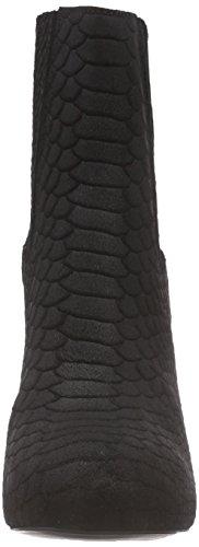 Mentor Mentor Ankle Chelsea Boot, Bottes Classiques femme Noir (black Suede)