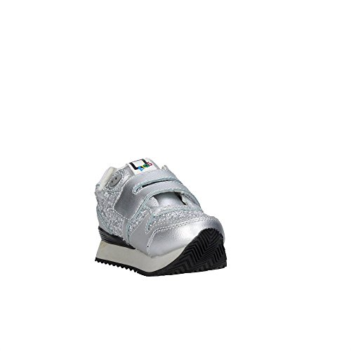 D.a.t.e. RUSH-79 Sneakers Fille Argent