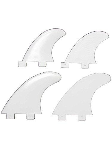 FCS Compatible Nylon Quad Fin ()