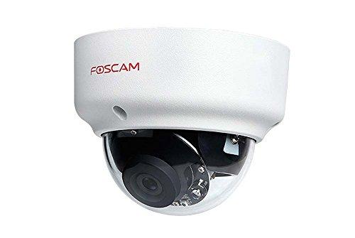 Foscam FI9961EP Full HD 2MP Poe P2P WDR 2.0 wettergeschützte IP-Kamera/Überwachungskamera mit IR Nachtsicht bis 20 m, Bewegungserkennung