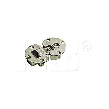 90/° Zinkdruckguss vernickelt Hettich Klappenscharnier Markant 11 9100006 /ø 35 mm 2 St/ück