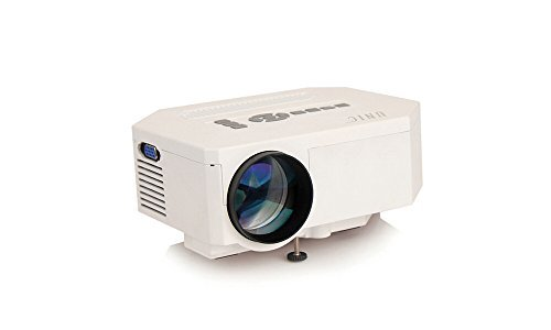 UNIC Uc30 640x480p, 150 Lm LED Home Theater Projector Support AV/VGA/HDMI/USB/SD/TV Input, Multi-media