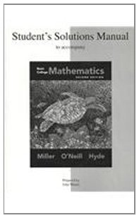 Student Solutions Manual for Basic Mathematics