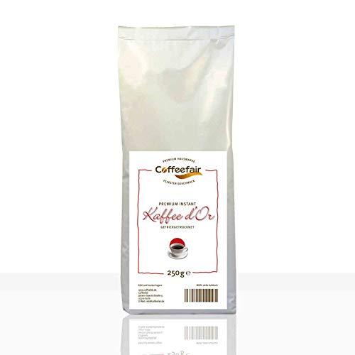 Instant-Kaffee für Kaffeevollautomaten   Coffeefair Premium d'Or 10 x 250g