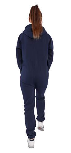 Finchgirl Damen Jumpsuit Jogger Trainingsanzug in Schwarz - 5