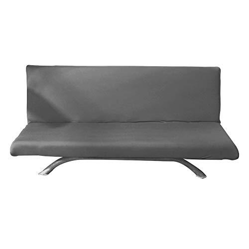 iShine Klappsofa Sofabezug Ohne Armlehnen Überwürfe Schlafsofa mit Stretch Sofahusse Slipcover Sofa Abdeckung in verschiedene Farbe-160cm-200cm