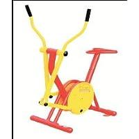 Bicicleta y elíptica, Uso exterior (parques y jardines)