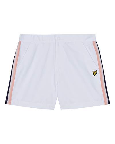 Lyle & Scott Side Stripe Shorts White-M -