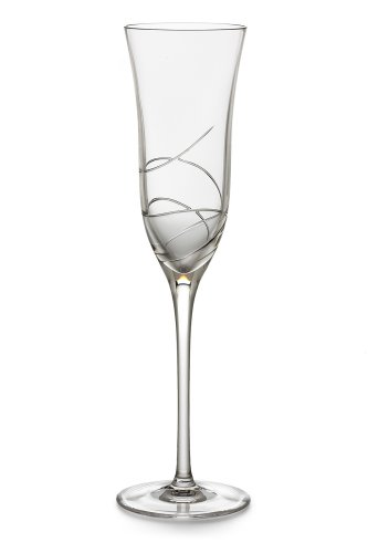 Waterford 'Ballet Ribbon Essence' Lead Crystal Champagne Flute - White