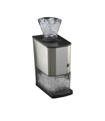 RGV Mojito Junior - Picador de hielo (Negro, Acero inoxidable, Transparente, Acero inoxidable, 170 x 220 x 460 mm, 3,6 kg)