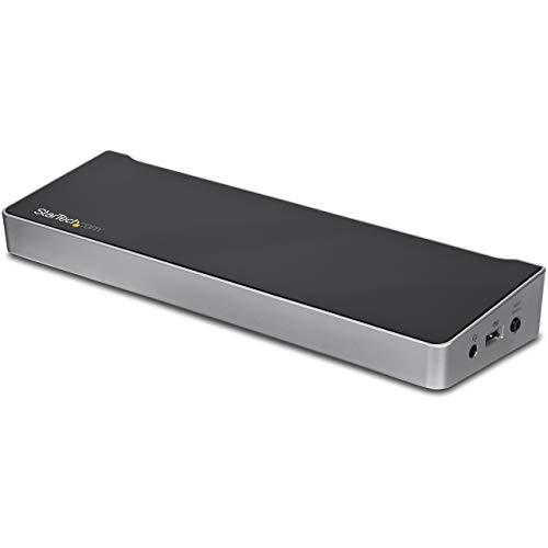 StarTech.com KVM Dockingstation für zwei Laptops mit Daten und Peripheriegeräte Sharing - USB 3.0 - Dual-Host Notebook Docking Station