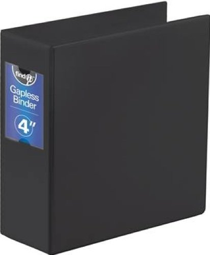 Gapless Loop Ring Binder, 11 x 8-1/2, 4