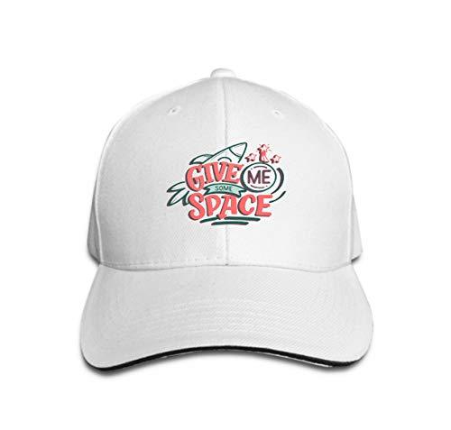 Baseball Caps Trucker Caps Bones Hip Hop Hats for Men Women Sketch Lettering Quote Space Textile Design Print modern trendy Kids Concept Doodle ha (Space Cowboys Kostüm)