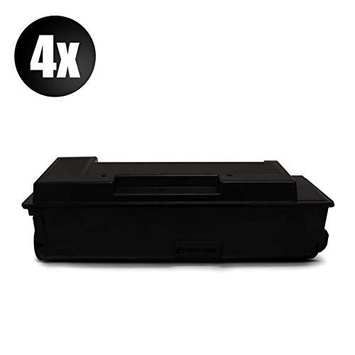 4X Eurotone Toner für Kyocera FS 1000 1010 1050 Arztdrucker T TN Plus N PS PSN ersetzt 1T02BX0EU0 TK17 - Tk17 Toner Kit