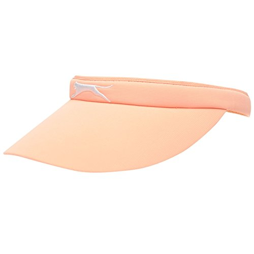 Golf Visor Für Damen (Slazenger Damen Clip Visor Golf Sonnenblende Logo Rosa Damen)