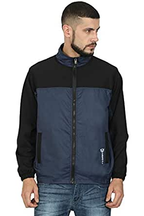 VERSATYL Sports and Casual Track Jacket for Men and Women (Black, Small)